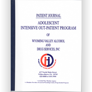 Adolescent Intensive Outpatient Journal